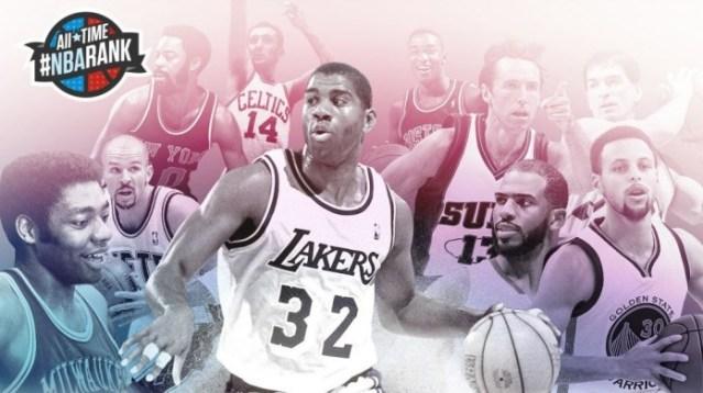 NBA TOP5 ASISTENCIA